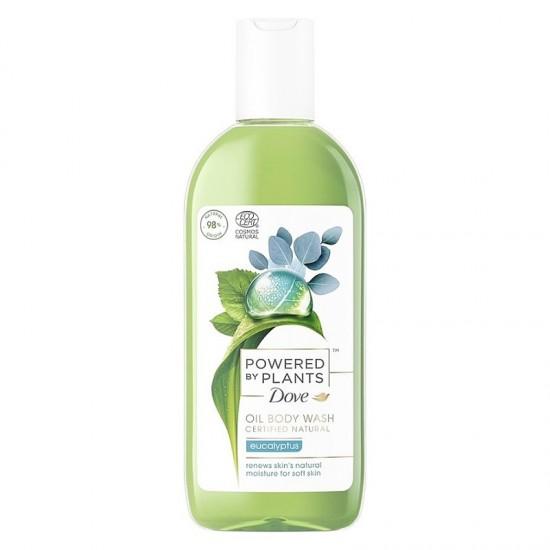 DOVE Sprchový olej Powered by Plants - Eucalyptus 250ml