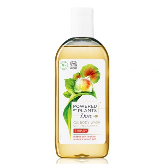 DOVE Sprchový olej Powered by Plants - Ginger 250ml