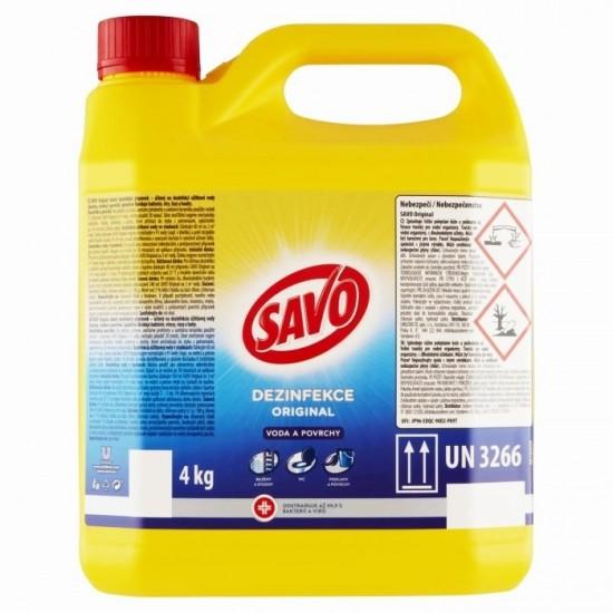SAVO Original Dezinfekcia vody a povrchov účinne odstraňuje 99,9 % bakterií 5L